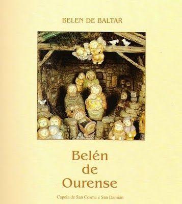 Belen de Baltar: libro publicado sobre el Belen del escultor Arturo Baltar
