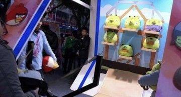 """Ya se puede jugar al Angry Birds """"de verdad"""". ¡Lo han inventado los chinos!"""