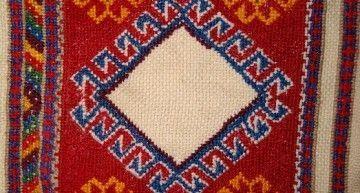 """Villa Eulalia"": avances en la alfombra Caucasian Kelim"