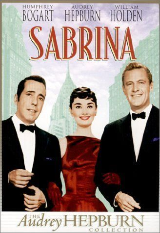 Sabrina: cartel de la pelicula Humphrey Bogart Audrey Hepburn William Holden