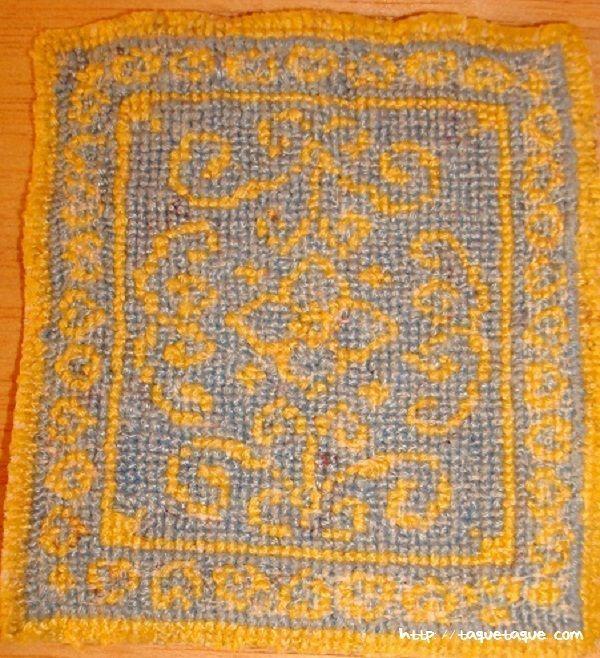alfombra, beside rug, casas de muñecas, alfombras, miniaturas, patrones