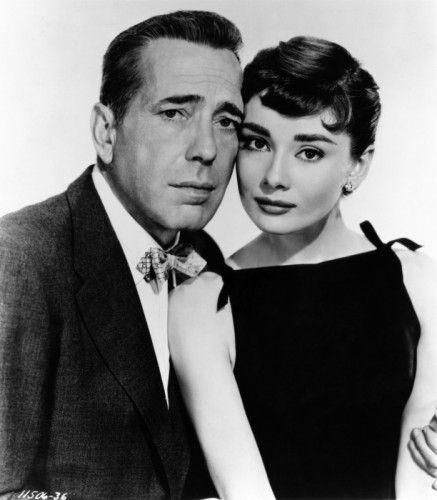 Humphrey Bogart y Audrey Hepburn en Sabrina