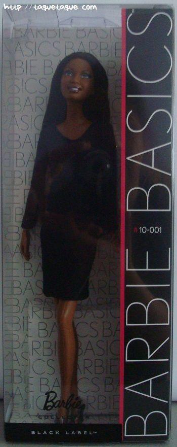 Barbie Basics LBD #10: foto de la muñeca en su caja original