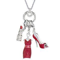 """Charms de la línea """"Glamour"""" de Swarovski inspirados en """"Sexo en Nueva York"""""""