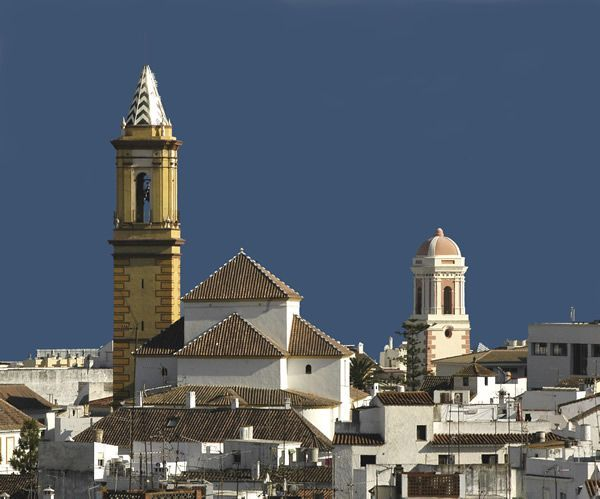 vista del casco historico de Estepona