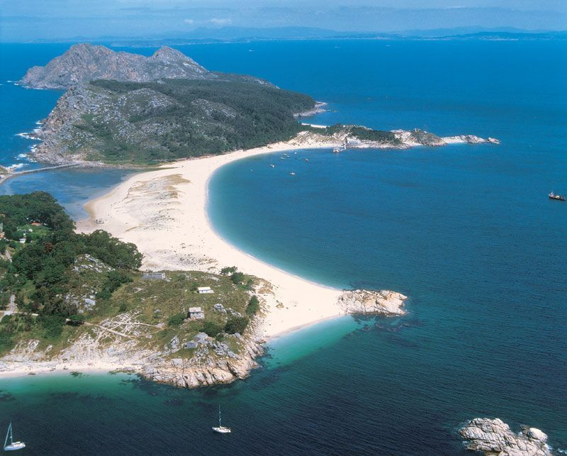 Islas Cíes (Ría de Vigo)
