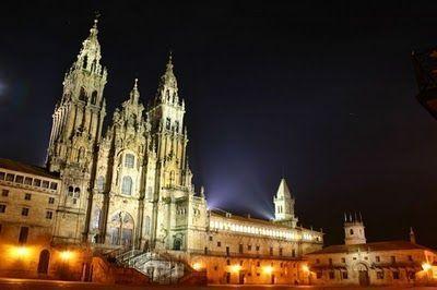 Plaza del Obradoiro y Catedral (Santiago de Compostela)