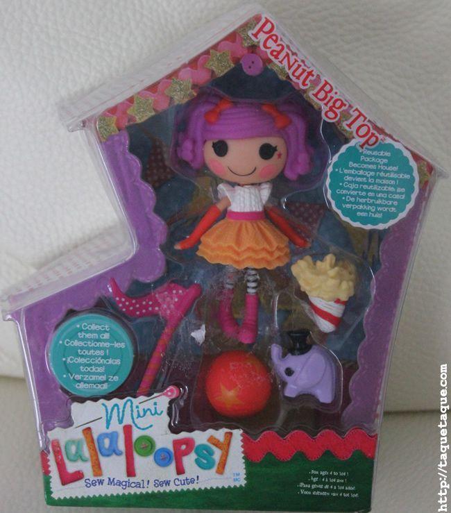 mini Lalaloopsy Peanut Big Top, su mascota y otros accesorios
