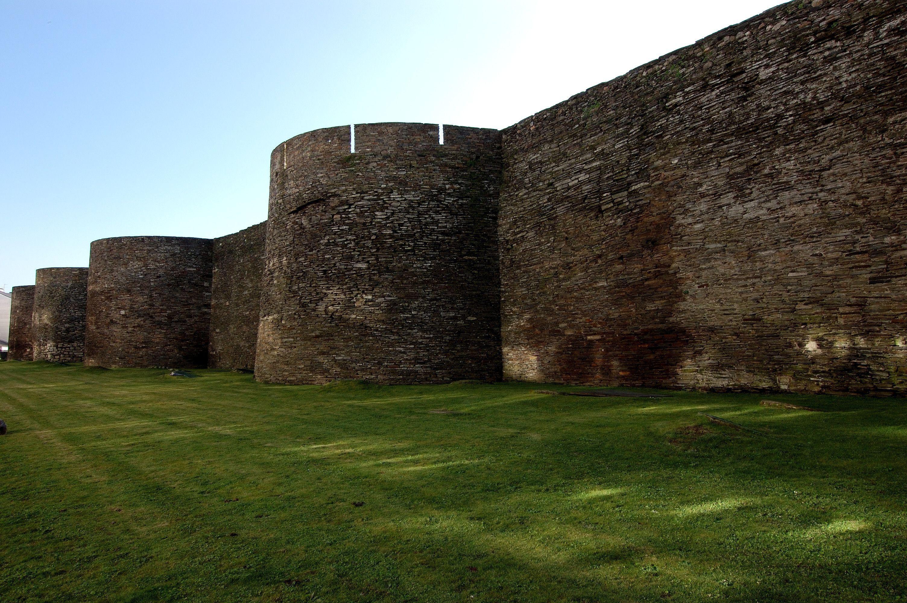 Muralla romana (Lugo)
