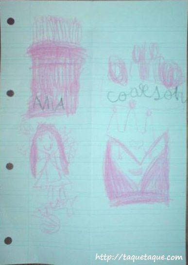 Tarjeta de cumpleaños OOAK que me ha hecho Paola en mi 40 cumpleaños