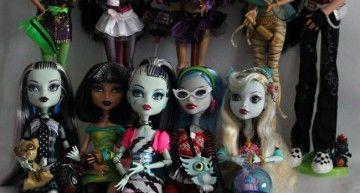 ¿Cuántas colecciones de Monster High hay? Mattel parece una fábrica de churros!!!