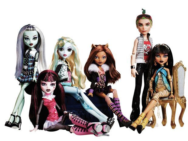 Monster High - personajes