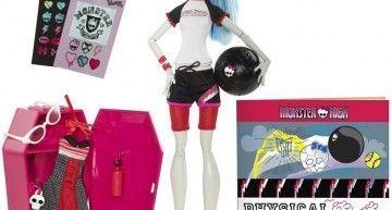 Novedad en Monster High!!! Classroom Playset (III): Ghoulia, en Deseducación Física, entrena para ganar