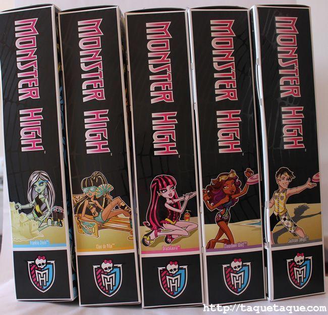 mis Monster High Gloom Beach (todos los que han salido a la venta en España)
