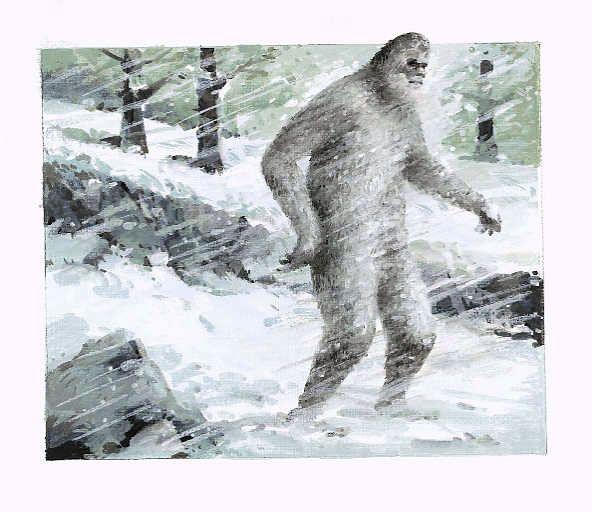 el hombre de las Nieves (el Yeti)