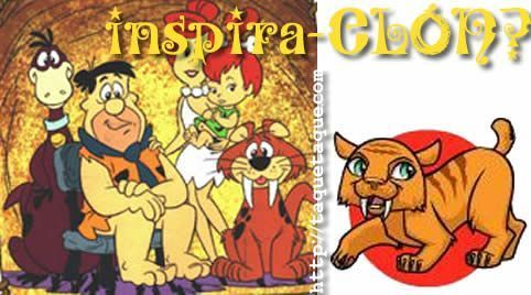 """""""Sweet Fang"""", la mascota de Torelei, ¿es un inspira-CLÓN de la mascota de los Picapiedra?"""