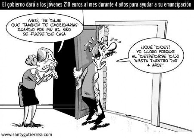 """Viñeta de Santy Gutiérrez publicada en """"La Opinión"""" de La Coruña el 27 de septiembre de 2007"""