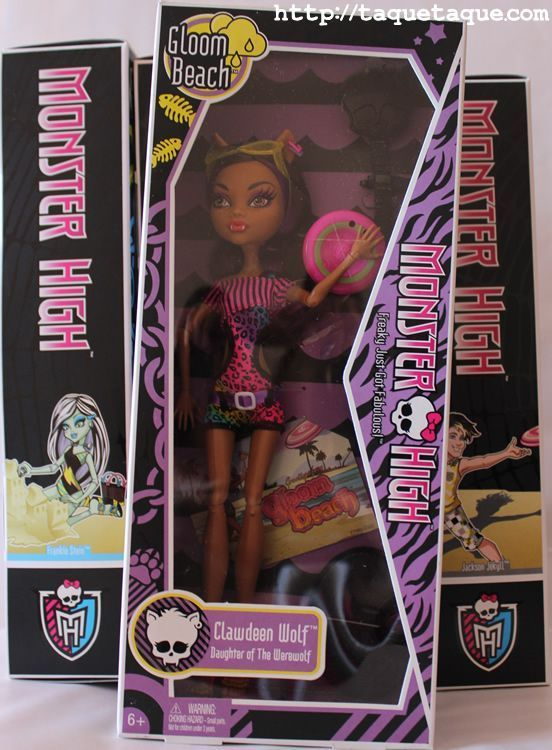 Clawdeen Wolf Gloom Beach