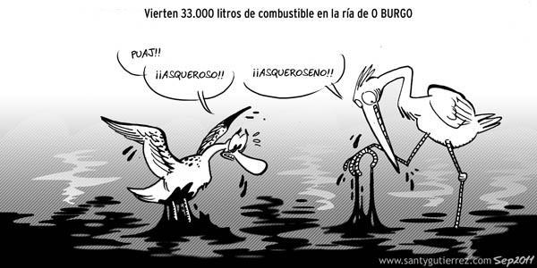 """SANTY GUTIERREZ: asqueroseno (publicado hoy en el diario """"La Opinión"""" de La Coruña)"""