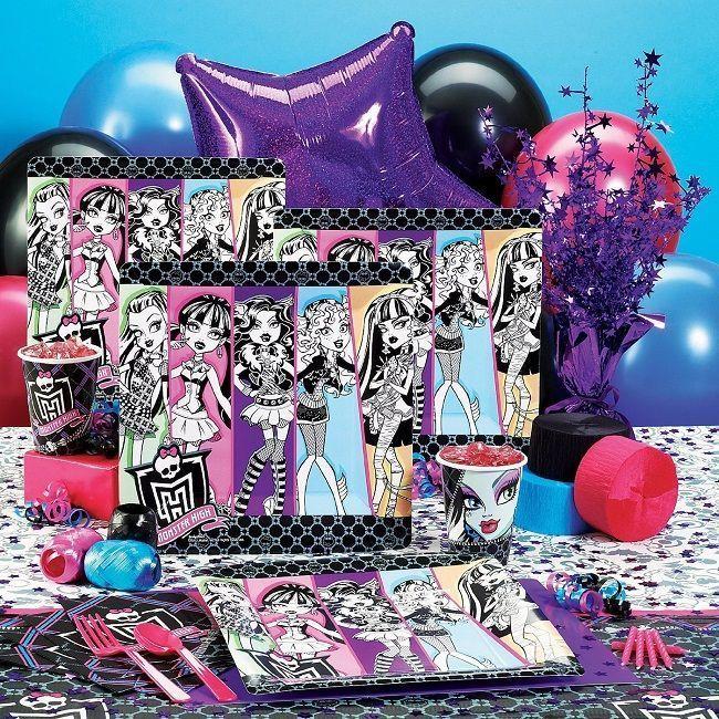 Fiesta de cumpleaños temática: Monster High