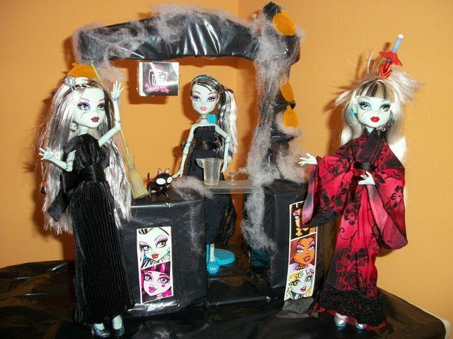 Fiesta DIY de Halloween para sus Frankies de BEA-TRICI