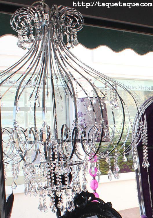 Lámpara que vi en una tienda de Puerto Banús (Málaga) el 26 de julio de 2011