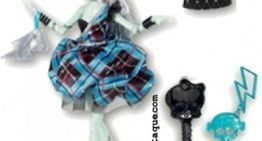 Monster High – Novedades 2012: Colección Sweet 1600 con mejores fotos (I): Frankie Stein