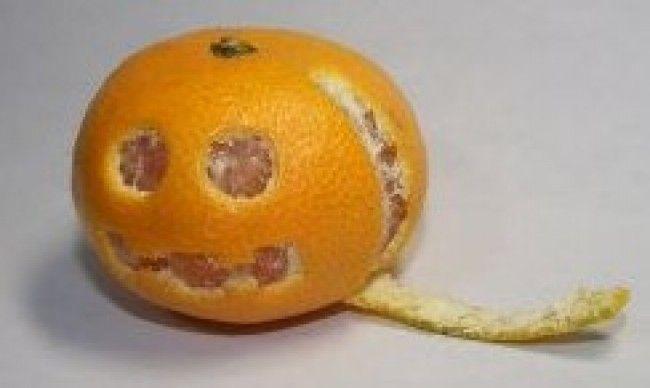 Mandarina de Halloween by Gabriela Giselle Pereyra