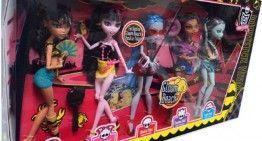 Que no panda el cúnico!!! Aún quedan Monster High fuera de España!!! (3): la colección de la Playa, la más buscada!!!