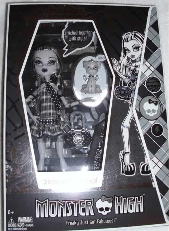 Monster High - Frankie Black & White (sólo hay 5000 en todo el mundo)