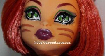 Toralei Stripe, el último fichaje de mi colección Monster High, con un look diferente al original