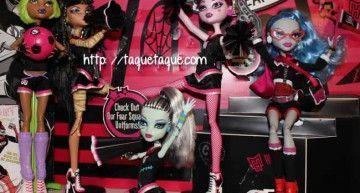 Que no panda el cúnico!!! Aún quedan Monster High fuera de España!!! (4): el pack de Asustadoras (las Animadoras)