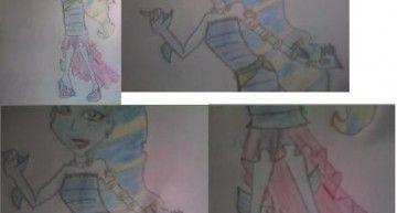 Vuestros dibujos, vuestras historias: Ainara por fin se ha animado a enviarnos uno de sus dibujos!!!