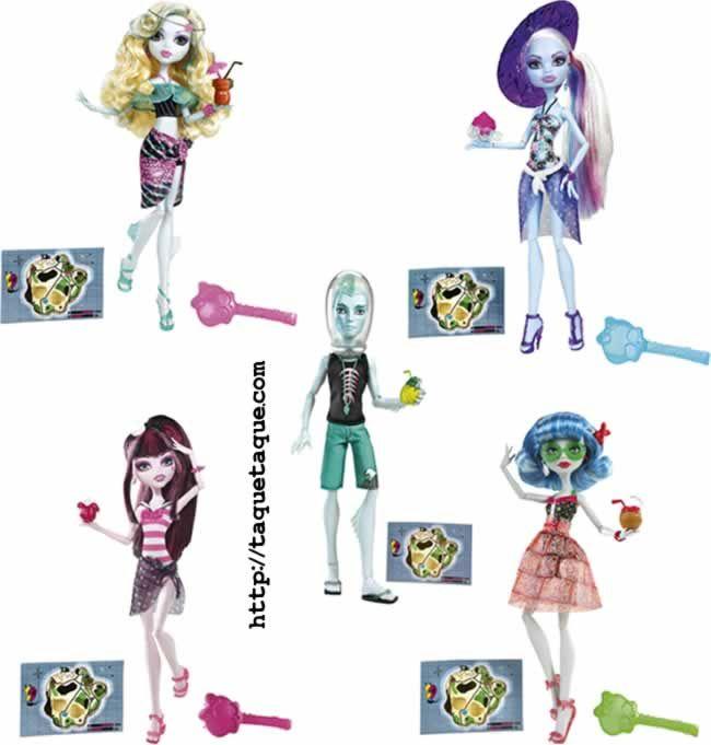 Monster High - la colección Skull Shores al completo