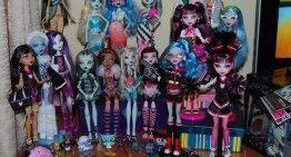 Vuestras fotos, vuestras historias: Marina nos presenta a sus Monster High y su Reto de Halloween