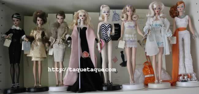 mis Barbies Silkstone (BFMCs)