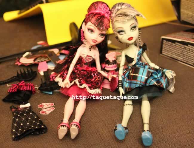 Draculaura y Frankie Sweet 1600