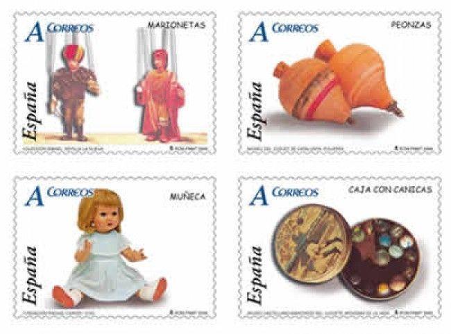 sellos de juguetes antiguos