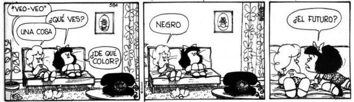 (c) Quino: Mafalda y Susanita - futuro