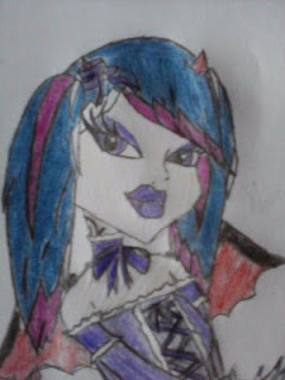 Charlotte Demon, una de las MHOC creada por Elena Fuentes, una inspiránDIYer