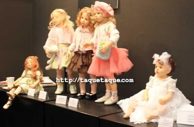 64º Feria Internacional del Juguete de Nüremberg (Alemania) - muñecas de resina