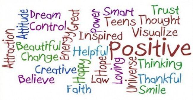 Pensamiento y actitud positiva