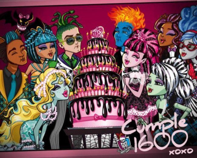 Monster High: colección Sweet 1600 y demás amigos de Draculaura