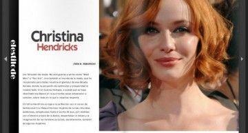 Gracias a LANNE Magazine he cumplido mi sueño de ser periodista: han publicado mi artículo sobre Christina Hendricks