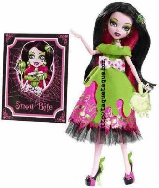 Monster High Fairy Tales - Draculaura como Snow Bite (Blancanieves)
