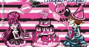 Hoy Draculaura Vampira cumple 12 años. ¡¡¡Feliz Cumplespantos!!!