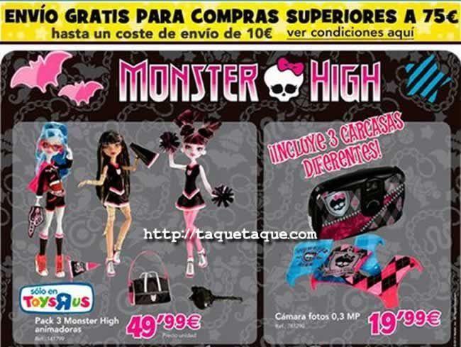 En Toys 'R Us podéis encontrar el pack de Asustadoras por 50€