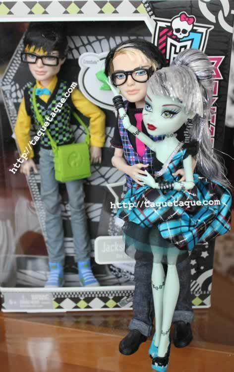 monster high frankie and jackson dating A page for describing characters: monster high this is the main page, or the  page for characters not introduced in specials for the ones that.