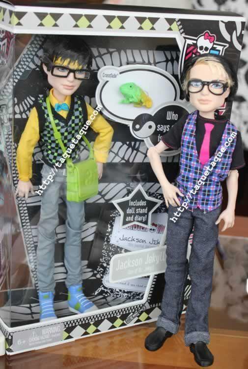 Los dos Jackson Jekylll que Mattel ha editado hasta ahora: el de la colección Gloom Beach, y el nuevo