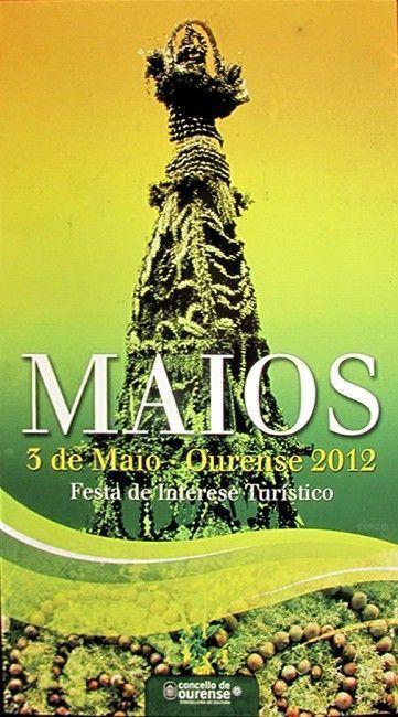 """La Fiesta de """"Os Maios"""" vuelve a ser festivo local en Ourense (3 de mayo de 2012), después de casi 20 años"""